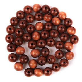 Preciosa Wood Beads 12mm Almond Pk50