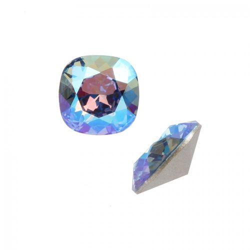 4470 Swarovski Crystal Square Fancy Stone 10mm Light Sapphire Shimmer F Pack of 1