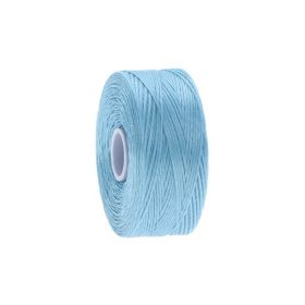 BEADSMITH ™ / thread S-LON D / nylon / Tex 45 / Wireless Blue / 70m