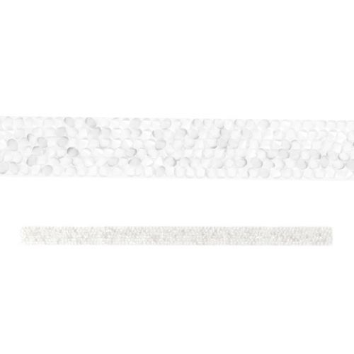 73000 Swarovski Crystal Medley Strip Silver Shade/Transparent 0.9x15cm Pk1