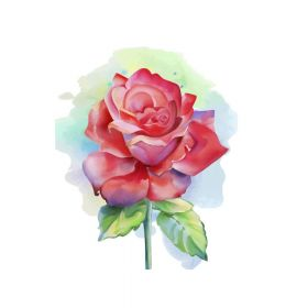 Diamond painting / mosaic 5d / rose / 20x25cm / 1pcs
