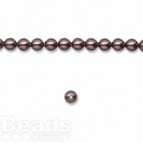 5810 Swarovski Crystal Pearl 4mm Burgundy Pk50