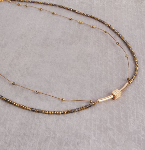 Golden Mist Necklace
