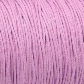 Waxed cord / pink / 1.0mm / 1m