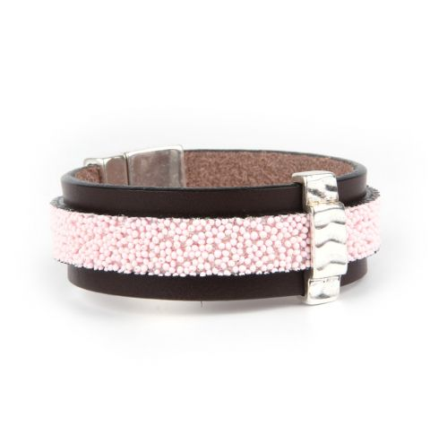 Sweet Liquorice Leather Bracelet