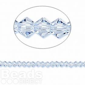 5328 Swarovski Crystal Bicones Xillion 3mm Light Sapphire Pk24
