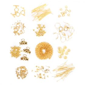 Gold Plated Findings Bundle 12 x Assorted Packs