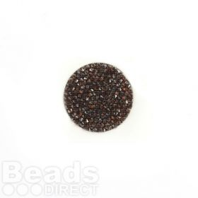 702429 Swarovski Crystal Fine Rocks 26mm Red Magma Pk1