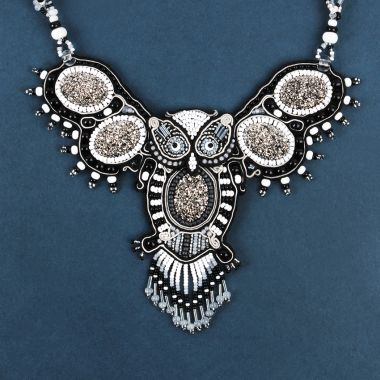 Soutache Night Owl