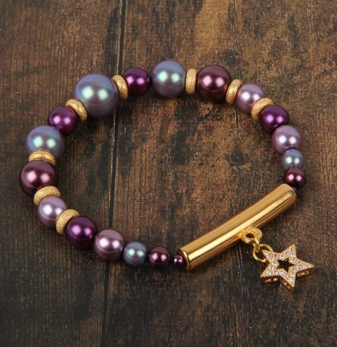 Regal Pearl Bracelet