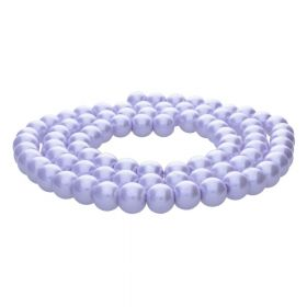 SeaStar™ / glass pearls / round / 12mm / violet / 70pcs