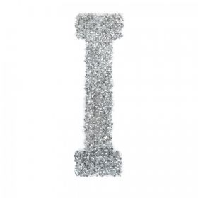 Swarovski Crystal Letter 'I' Self-Adhesive Fabric-It Transparent CAL Pk1