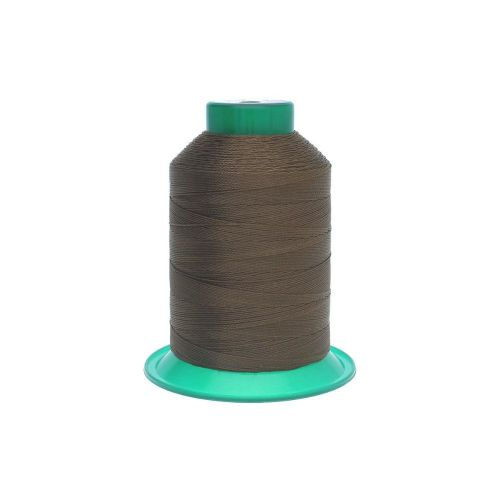 Thread / 100% polyester / 0.6mm / brown / 500m