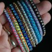 How to make a bracelet from cupchain and cord - jewellery making tutorial