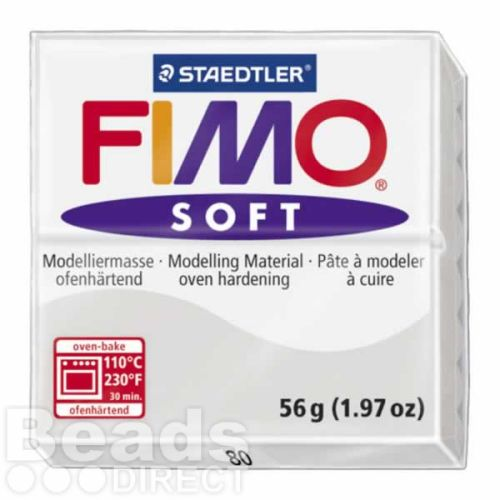 Staedtler Fimo Soft Polymer Clay Dolphin Grey 56g (1.97oz)