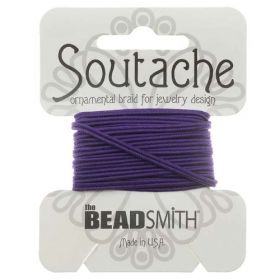 Pansy Polyester Soutache Cord Beadsmith 3yds