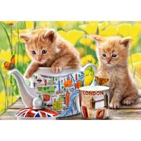 Diamond painting / mosaic / kittens / 40x50cm / 1pcs