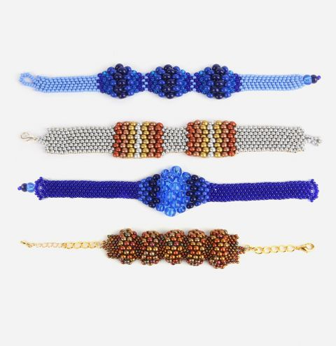Preciosa Peyote Bracelets | Take a Make Break