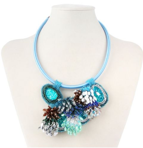 Ocean Coral Necklace