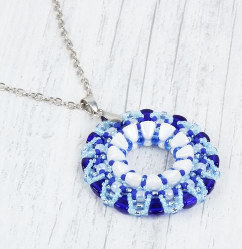 Blue Lake Pendant