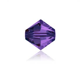 5328 Swarovski Crystal Bicones 4mm Purple Velvet Pk1440