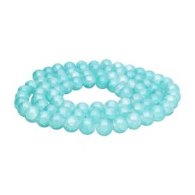 Mistic™ / round / 12mm / pastel blue / 65pcs
