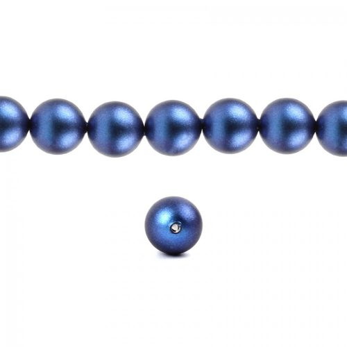 5810 Swarovski Crystal Pearls 3mm Crystal Iridescent Dark Blue Pk100