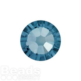 2088 Swarovski Crystal Flat Backs Non HF 4mm SS16 Denim Blue F Pk1440