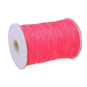 Coated twine / 1.5mm / neon pink / 160m