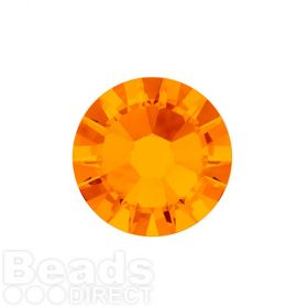 2088 Swarovski Crystal Flat Backs Non HF 4mm SS16 Tangerine F Pk1440