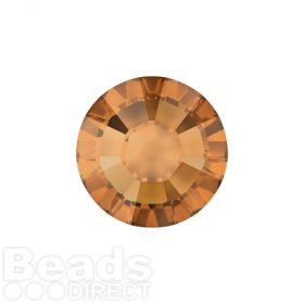 2078 Swarovski Crystal Hotfix Round 4mm SS16 Crystal Copper A HF Pk1440