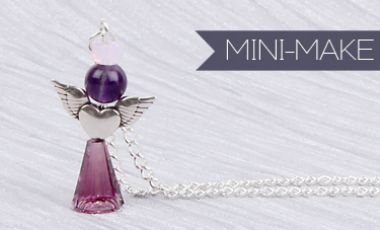 Angel Delight Necklace | Mini Make Monday
