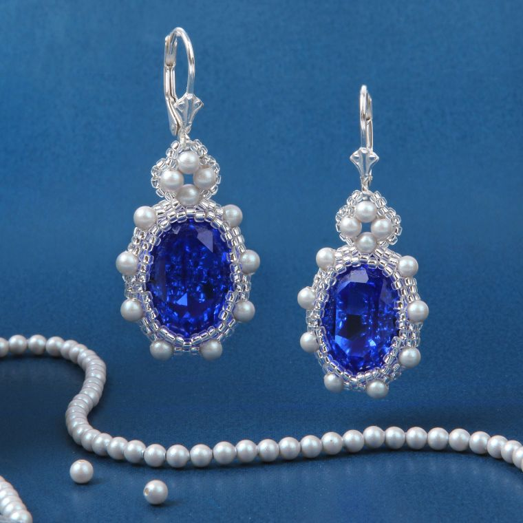 HOW TO MAKE - Elizabeth Earrings with New Swarovski Innovations