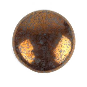 Par Puca Large Cabochon 25mm Opaque Grey Bronze Pk1