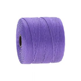 BEADSMITH ™ / thread SuperLon Fine / nylon / Tex 135 / Light Purple / 0.5mm / 108m