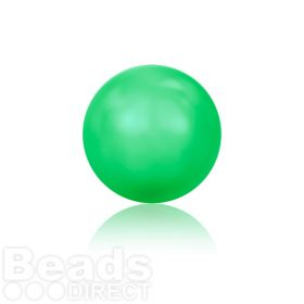 5810 Swarovski Glass Pearls 4mm Crystal Neon Green Pk500