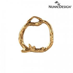 Nunn Design Antique Gold Woodland Ring 25mm Pk1