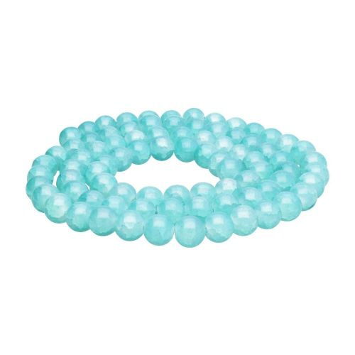 Mistic™ / round / 10mm / pastel blue / 80pcs