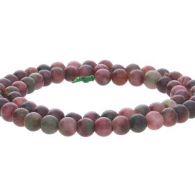 Dyed Tourmaline Qtz Round Beads 6mm