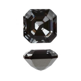 4480 Swarovski Crystal Imperial Fancy Stone 10mm Crystal Silver Night F Pk1