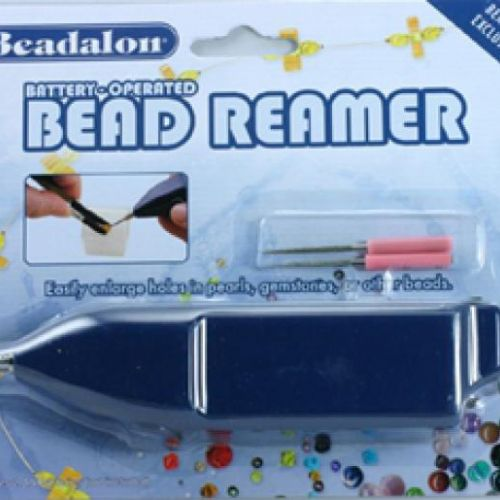 X Beadalon Battery Operated Bead Reamer with Tips Pk1