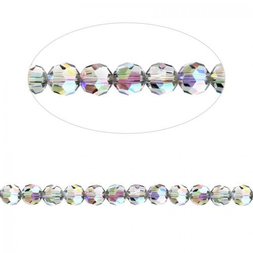 5000 Swarovski Crystal Faceted Rounds 4mm Crystal Paradise Shine Pk12