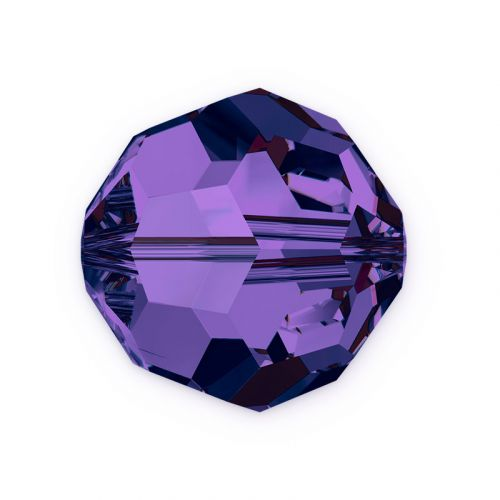 5000 Swarovski Crystal Faceted Rounds 6mm Purple Velvet Pk12