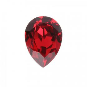 4320 Swarovski Crystal 13x18mm Drop Fancy Stone Scarlet F Pk1