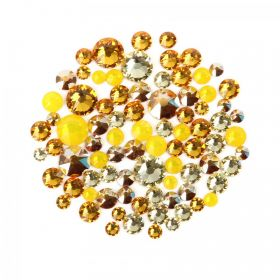 2088 Swarovski Crystal Non Hotfix Yellow Mix 5g