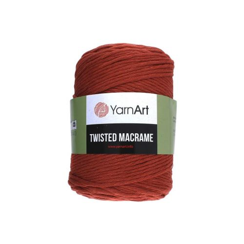 YarnArt ™ Macrame Tiwsted / cord / 60% cotton, 40% viscose and polyester / colour 785 / 500g / 210m