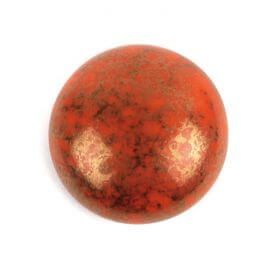Par Puca Small Cabochon 18mm Opaque Hyacinth Bronze Pk1
