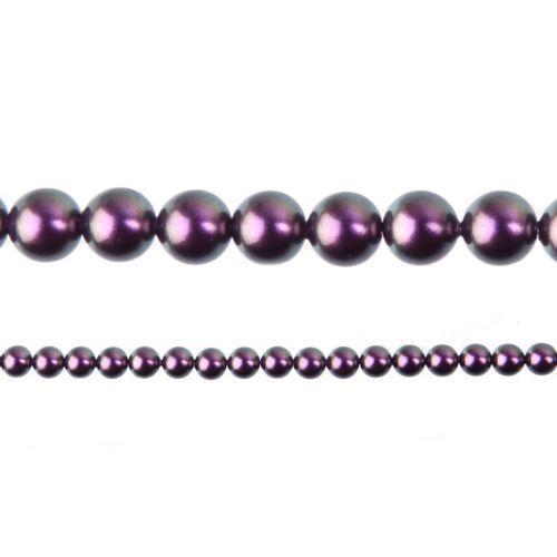 5810 Swarovski Glass Pearls 3mm Crystal Iridescent Purple Pk100