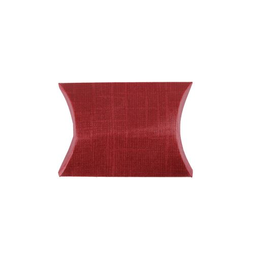 """X"" Bordeaux Small Pillow Gift Box 70x70x25mm Pk1"