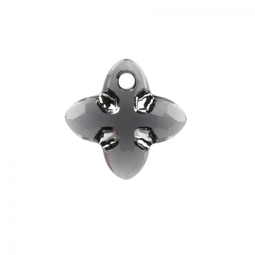X-6868 Swarovski Crystal Cross Tribe Stone 14mm Graphite Light Chrome Z Pk1